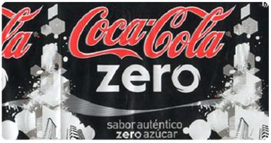 Mensaje oculto en Coca-Cola Zero