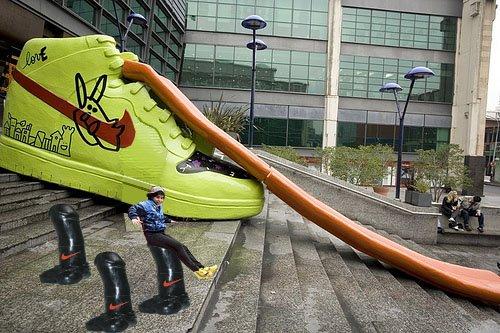 Nike-Tobogan