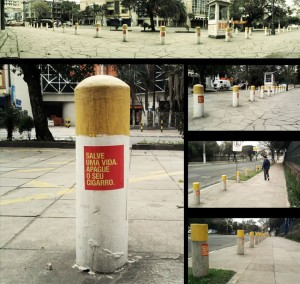 cigarette Street poles