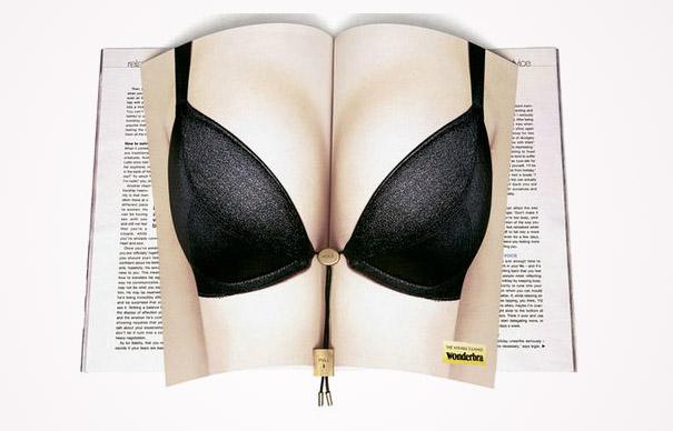 magazine ads wonderbra