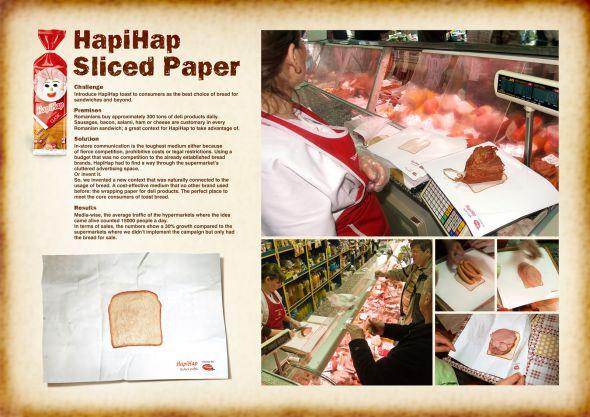 Sliced Paper