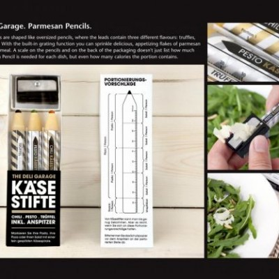 Quesos parmesanos: Original packaging