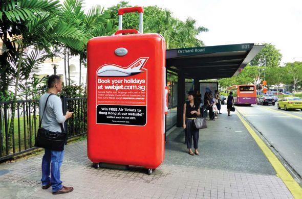 webjet the world supersized 3d luggage