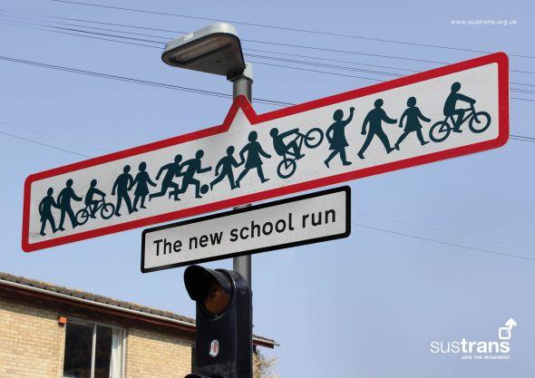 sustrans school run