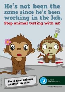 Deutscher Tierschutz Monkey 1