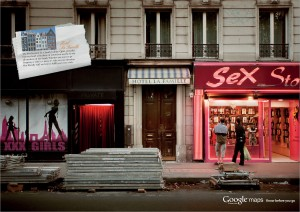 google streetview sexshop