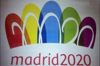 logo olimpiadas madrid 2020