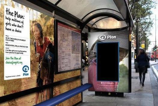 plan uk digital facial recognition ad