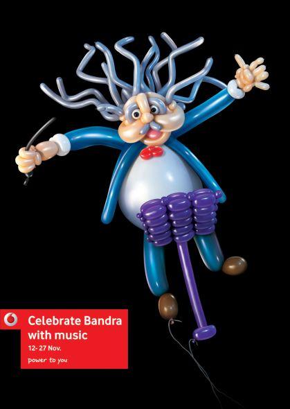 vodafone celebrate bandra conductor