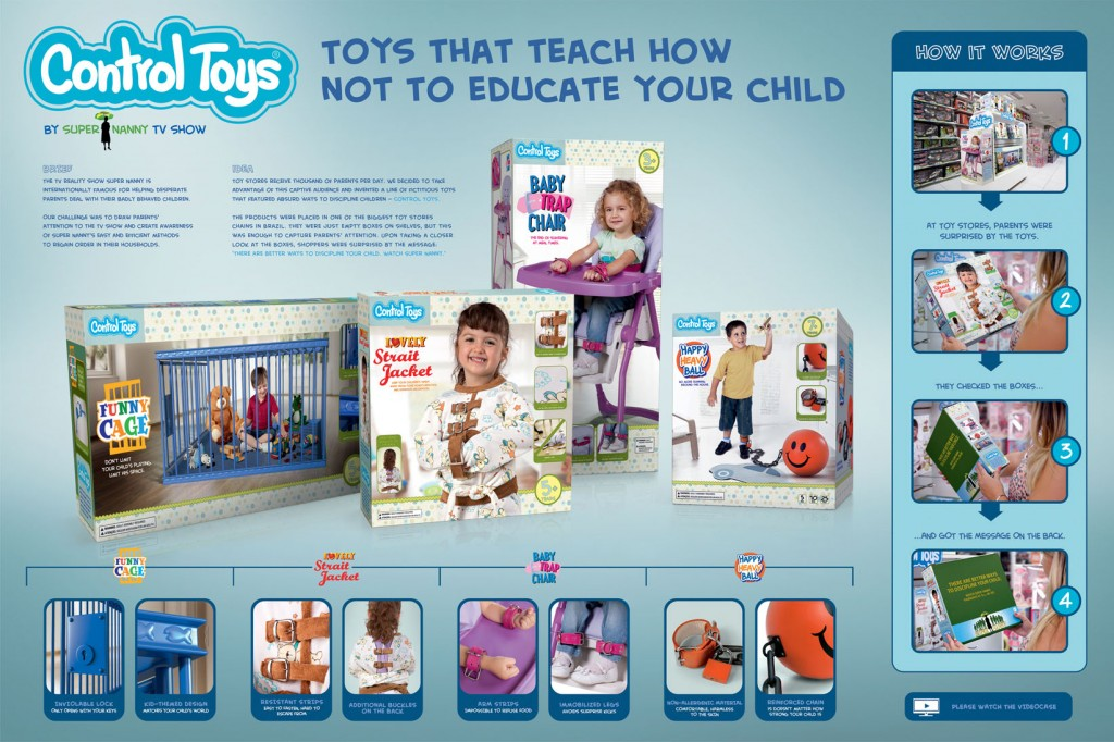 control toys by super nanny