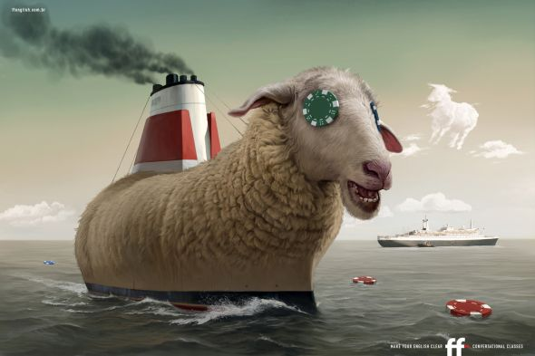 ff english school sheep ship chip