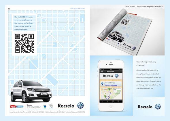 volkswagen recreio qr code