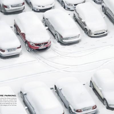 Nissan apuesta por un sistema de parking muy creativo en sus coches