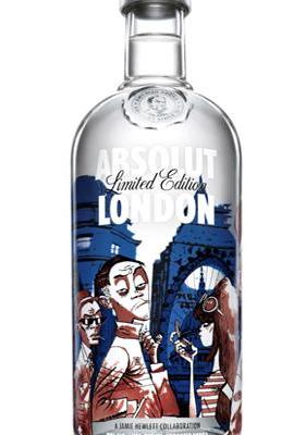 5 ejemplos de packaging de primera de Absolut Vodka