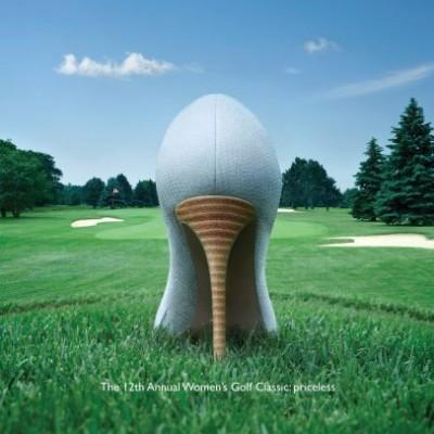Mastercard, para todo lo demás golf para mujeres incluido
