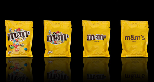 Packaging Minimalista M&M