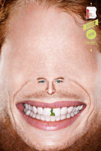 colgate dental floss smile 2