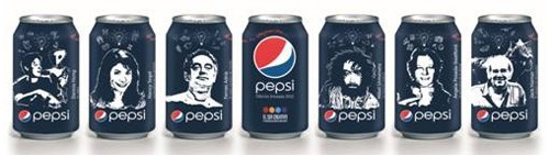 packaging Pepsi