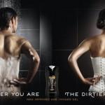 axe shower gel corset