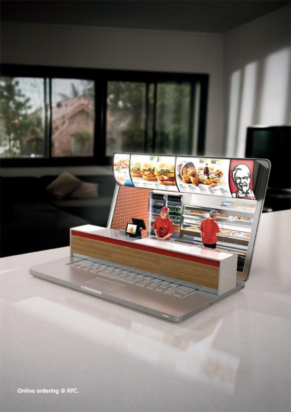 Pedidos online KFC