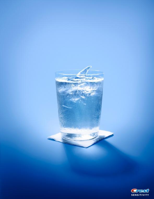 crest sensitivity water