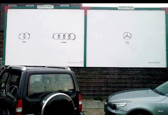 publicidad exterior Mercedes
