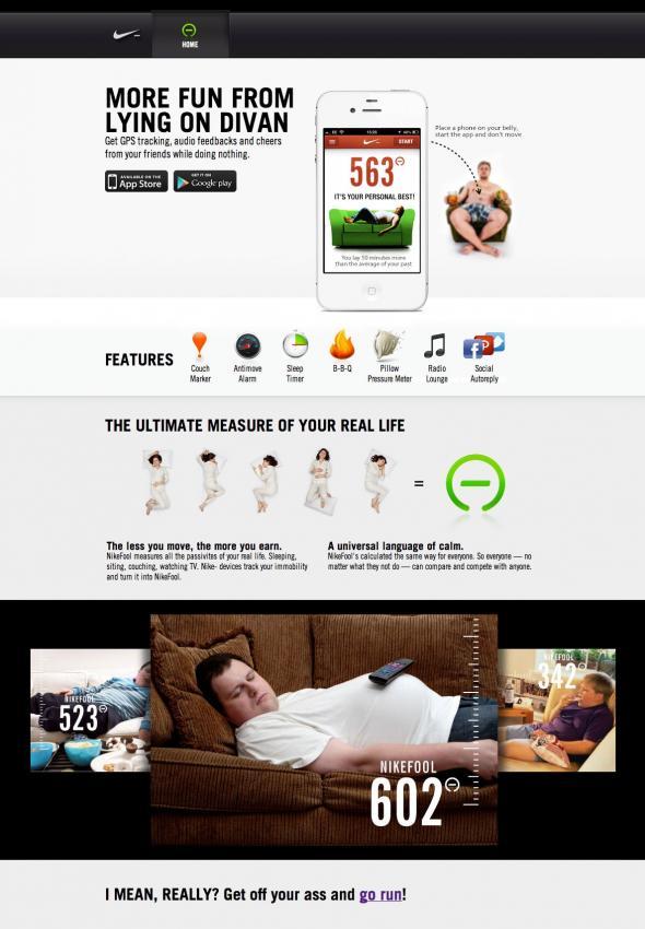 marketing online Nike