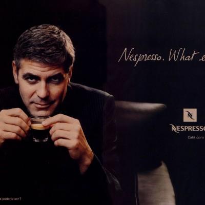 Matt Damon con George Clooney: el duo perfecto Nespresso