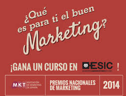 Pon tu cara al vídeo promocional de Los Premios Nacionales del Marketing