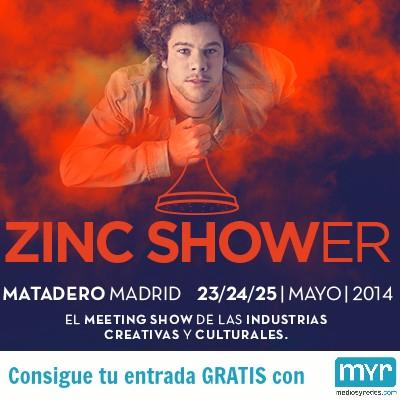 Publicidad, creatividad, innovación y mucho más en Zinc Shower